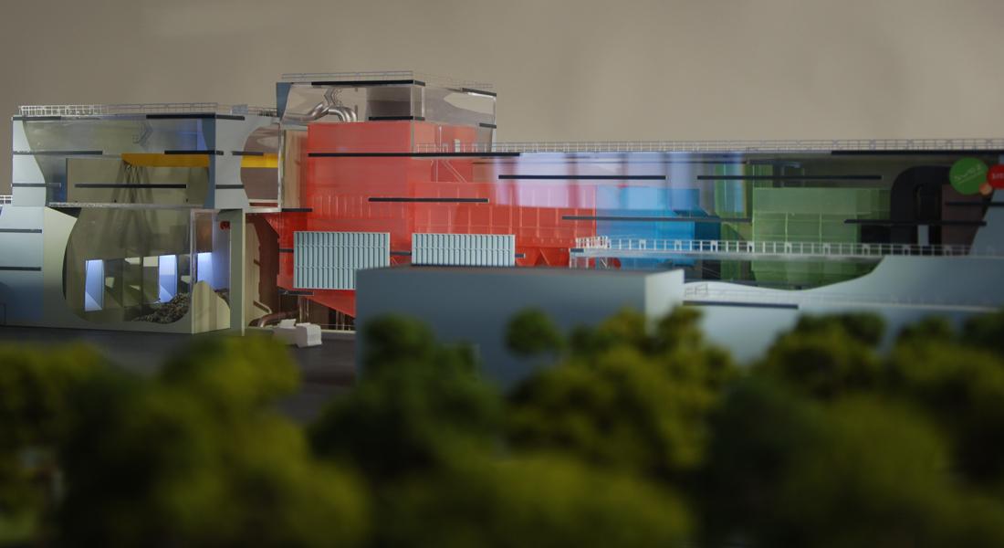 Maquette Baviro centrale